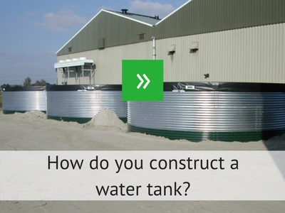 Construct a water tank
