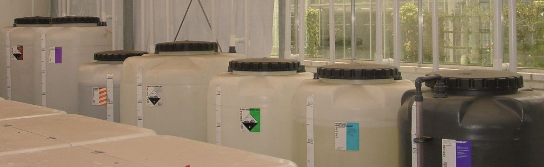Storage for fertilizers