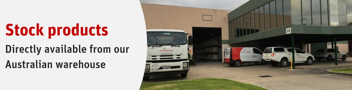 Products available direct from our Australian warehouse
