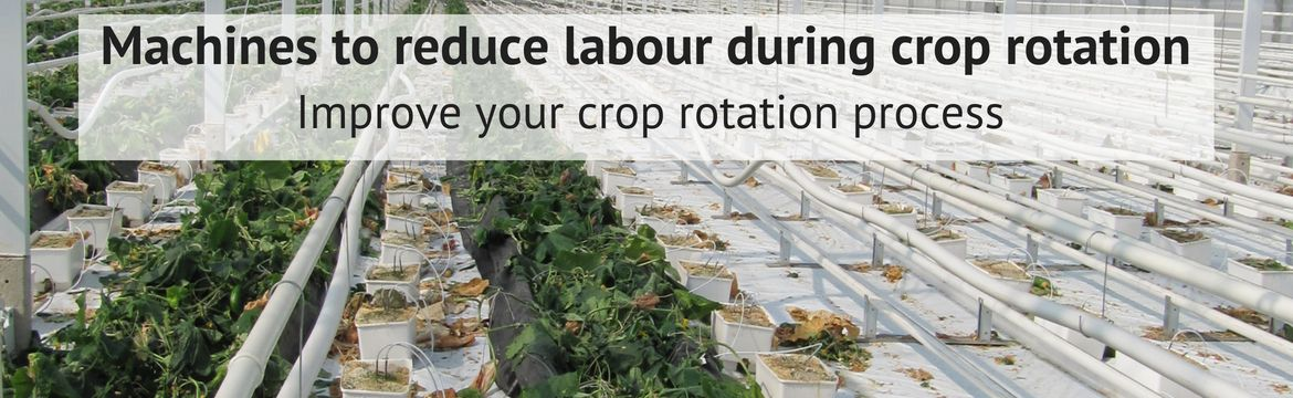 Crop rotation machines to help speed up your cleaning process!