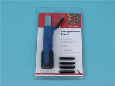 Leaf knife holder (for disposable knife)