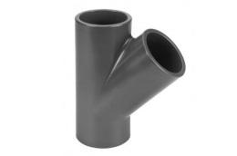 PVC fitting Tee 45°