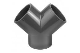 PVC fitting Y-elbow