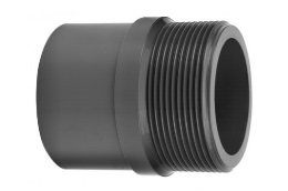 PVC fitting adapter niple