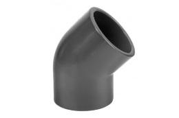 PVC fitting elbow 45°