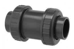 PVC fitting check valve