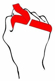 Handschoen meten