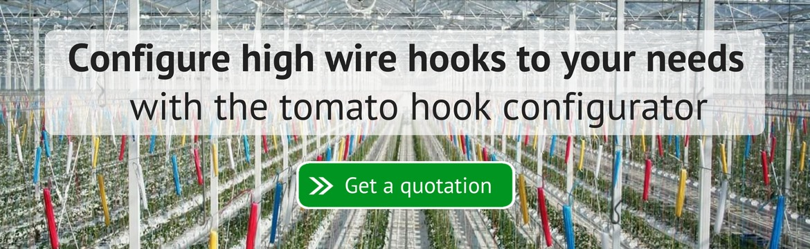 Tomato hooks and twine