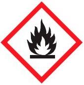 hazard symbols Flammable