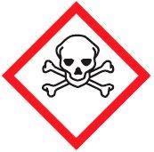 hazard symbols Poisonous