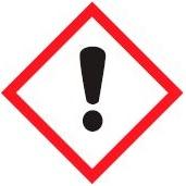 hazard symbols Irritating