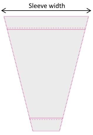 Sleeve width
