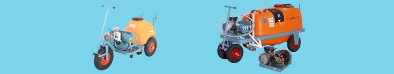 Spraying Trolleys