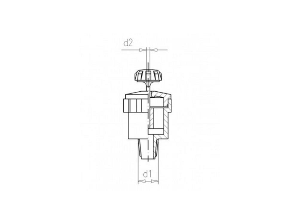 Pin Nozzle Brown M11