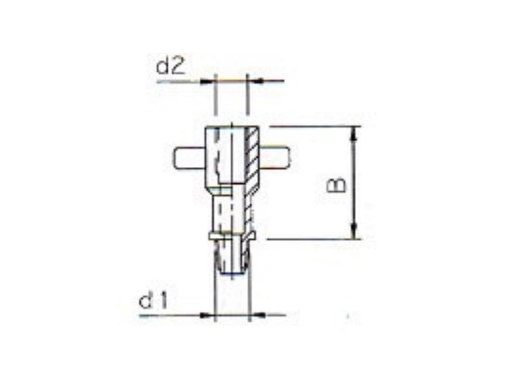 Adaptor Pipe  M11 X ww3/8