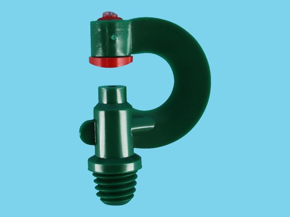 T-Dop Nozzle Green whitworth 3/8