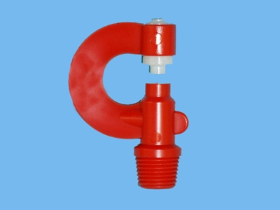 Misting nozzle m11 1,25mm red/white