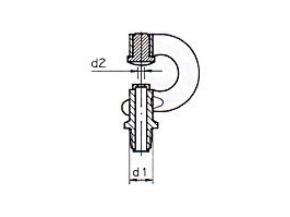 Misting Nozzle M11  1,50 mm  black/white
