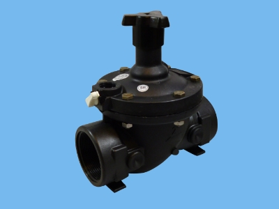 "Bermad  2"" valve straight 2w without solenoid  AC"