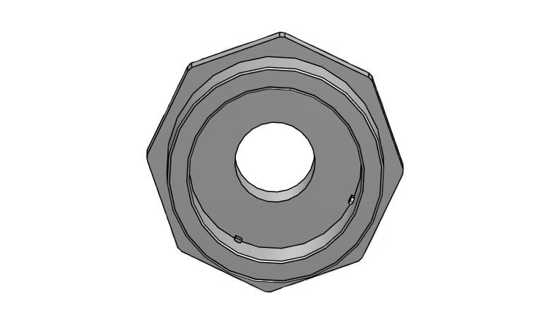 Adaptor nipple Ø90/75 x 2,5