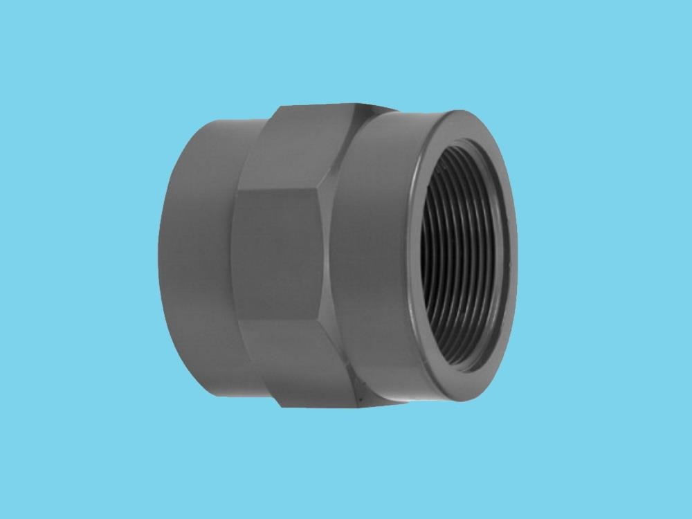 "Adaptor socket Ø32 x 1"" female 10bar pvc"