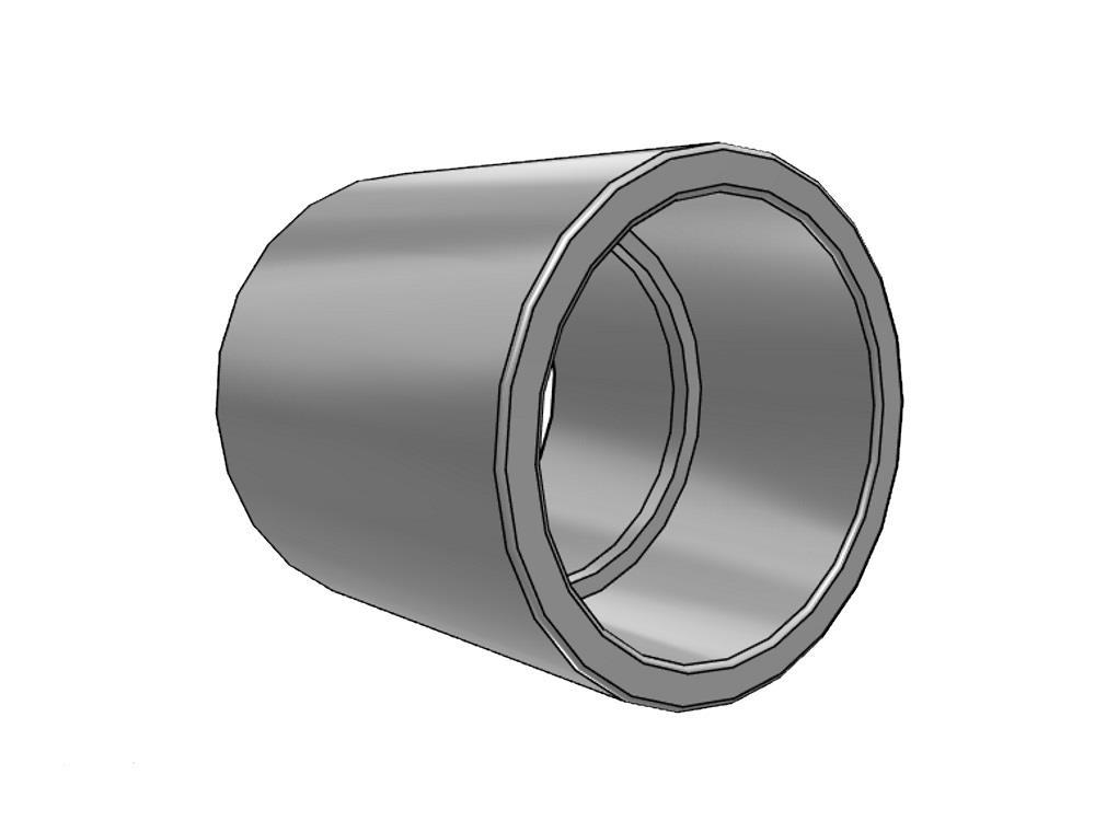socket Ø50 x 50 mm 16bar pvc