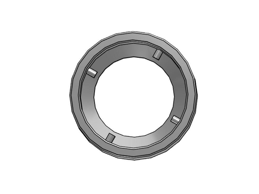 Reducing socket (insert) Ø50/40 x 25 mm 16bar pvc