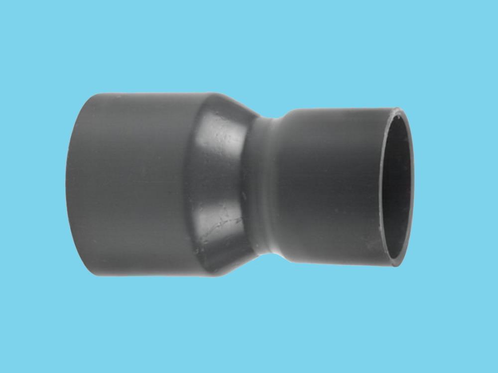Reducing socket Ø75 x 63 mm 12,5bar pvc