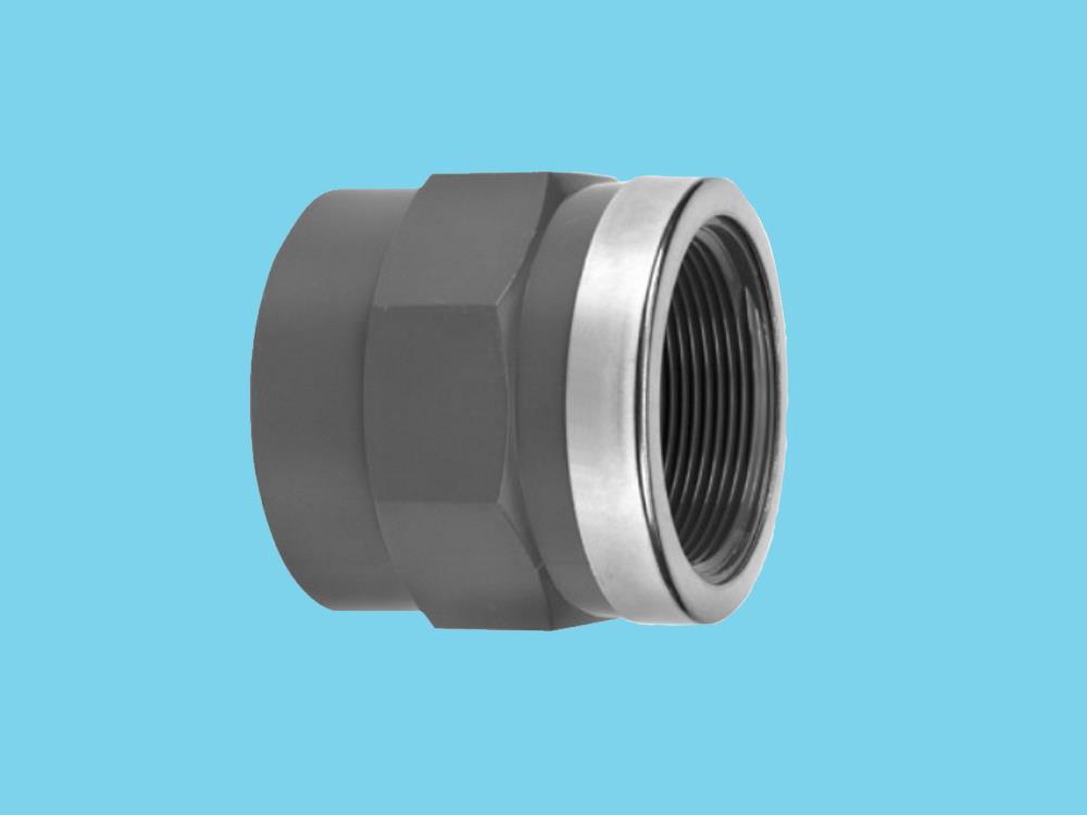 Adaptor socket Ø63 x 2