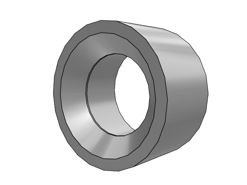 Reducing ring Ø160 x 90mm pvc 16bar