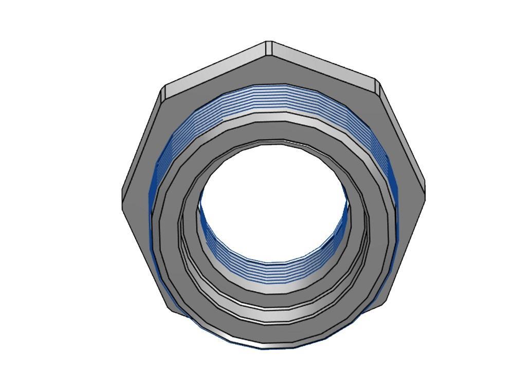 Reduction ring PVC 1 1/4