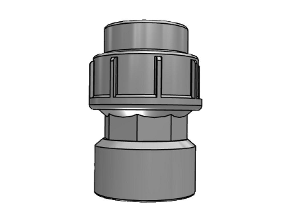 Pe Coupling 25 mm X 1