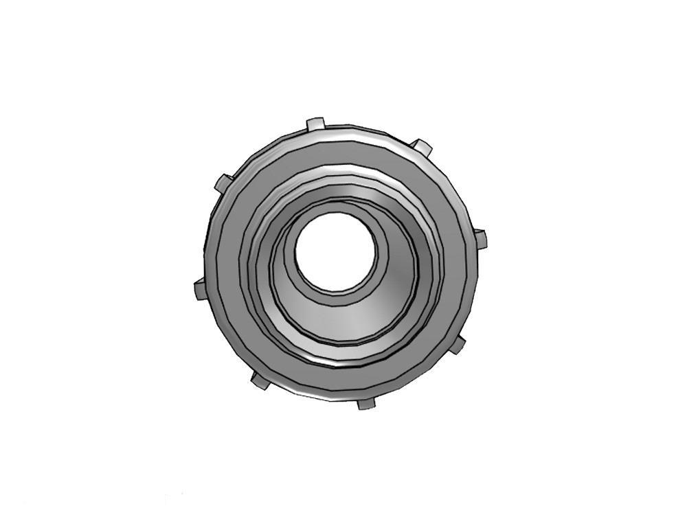 Union 25mm PE x 25/32mm PVC