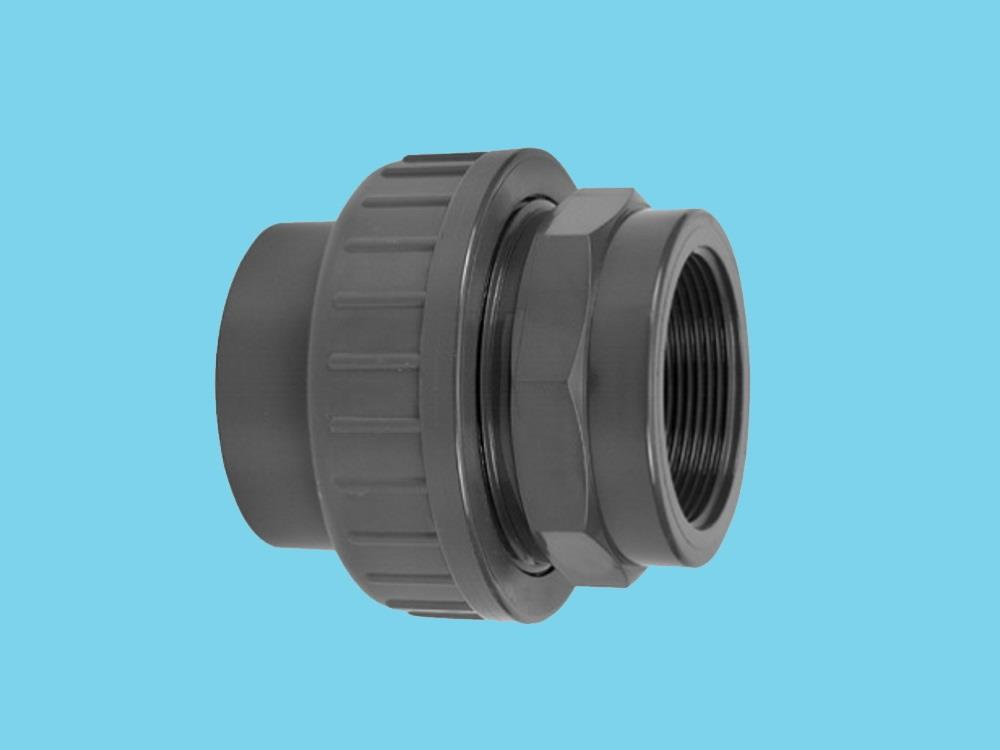 "Adaptor union 3/3 Ø40 x 5/4"" female 16bar pvc"