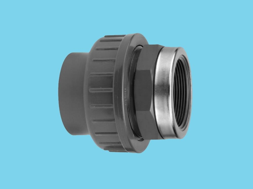 "Adaptor union 3/3 Ø75 x 2 1/2"" female 16bar pvc"