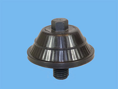 Removable mushroom diffuser for UDI sand filter