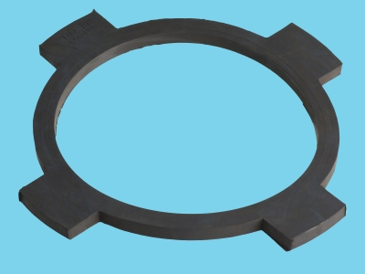 Rubber centering ring circulation filter 6""