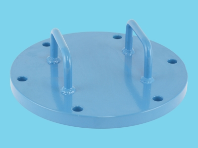 "Cover for sieve filter 6"" with 6 holes"