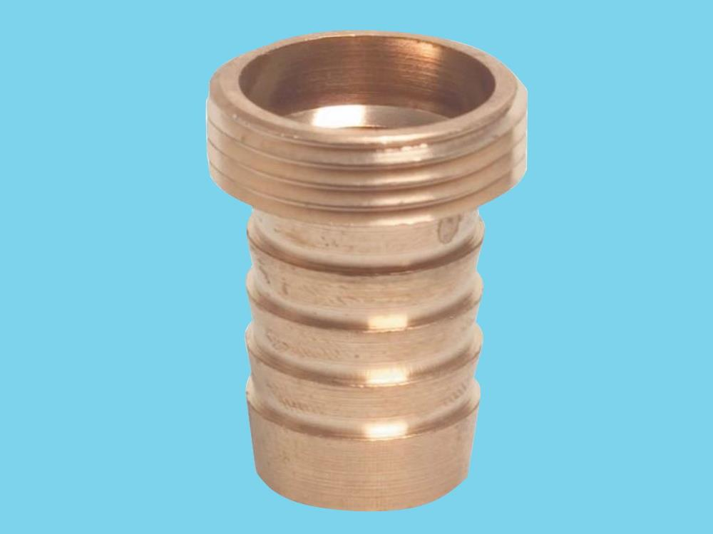 1/3 coupling brass - 1/2 male thread x 1/2 hose