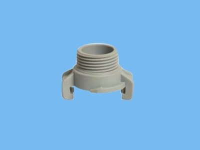 "GK coupling 3/4"" ext.threat PVC"