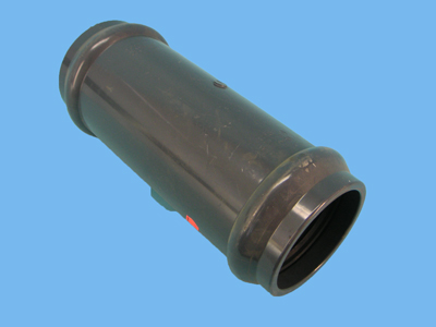 Slide-over socket Ø125 x 400 mm 10bar pvc