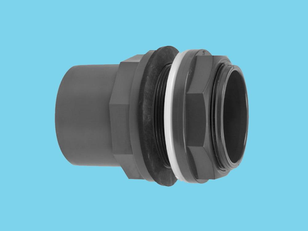 Tank outlet coupling 90/110 x 90/133 pvc