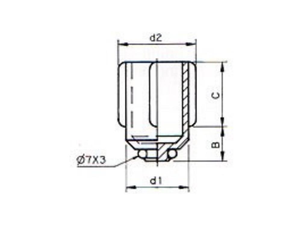 Piston + O-ring drain valve