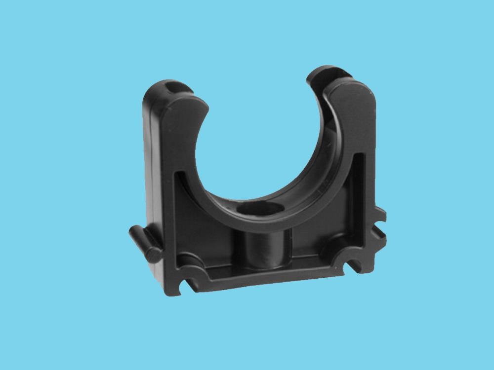 Tube clip Ø16mm pvc