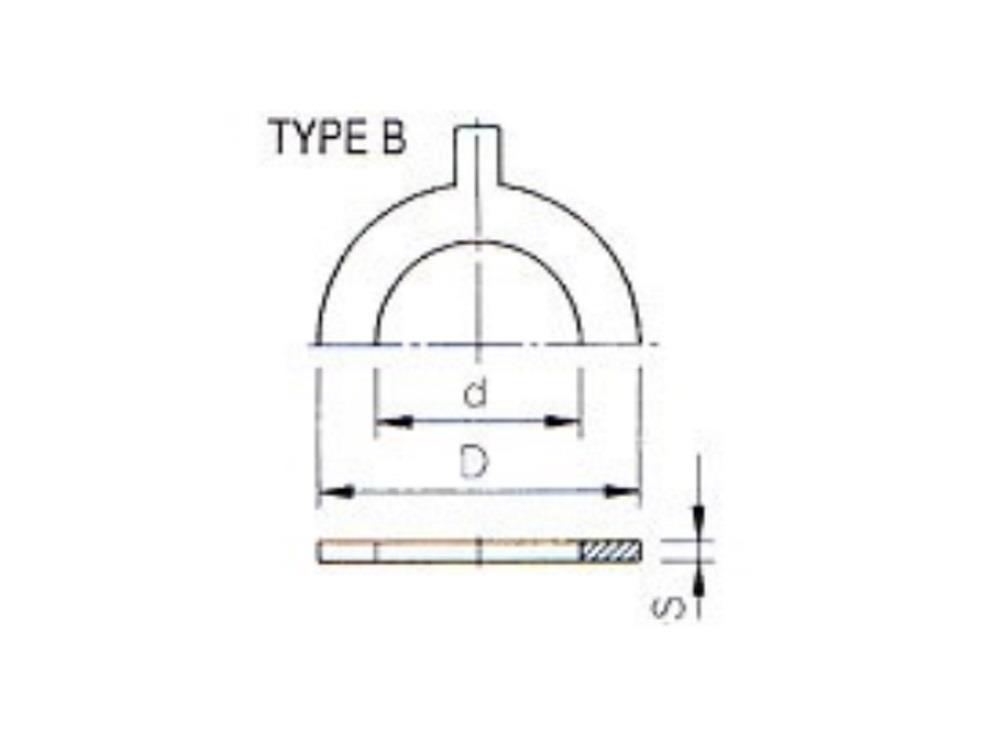 O-ring for flange adaptor Ø200-225mm