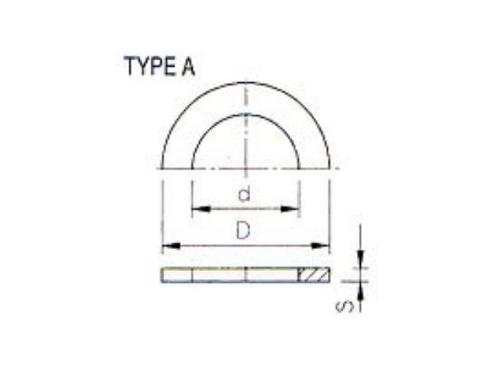 O-ring for flange adaptor Ø125mm