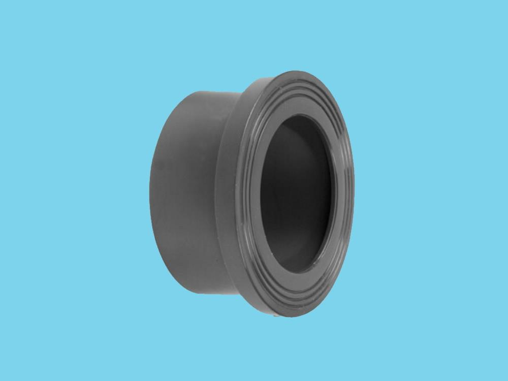 Flange adaptor 110 Ø150mm, thickness 12mm pvc