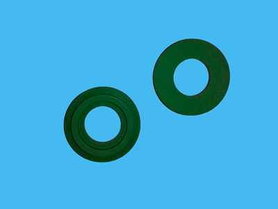 Jesco valve ring green 20.5x10x1.7 mm