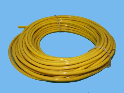 Qwpk cable 3x1, 5 mm yellow 750v