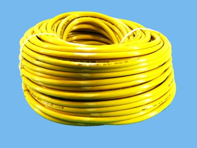 Qwpk cable 5x2, 5 mm yellow 750v